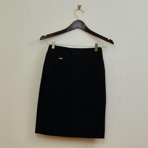 Black Calvin Klein Pencil Skirt